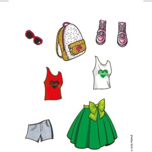 Barbie_Stickers by Fivestore 2